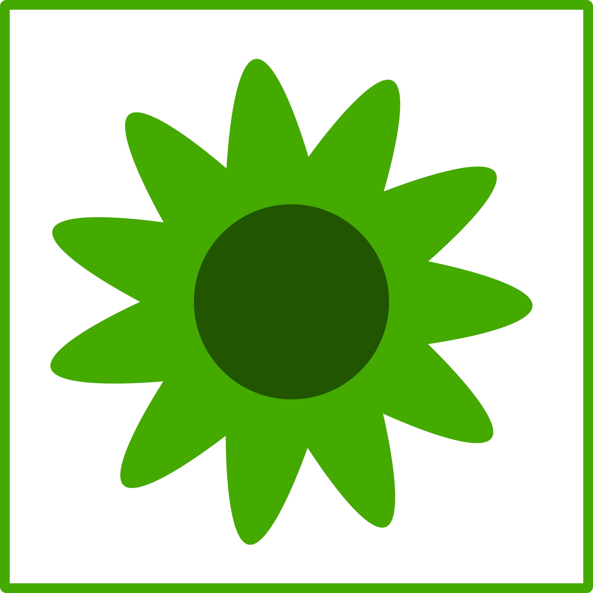 Green sun clipart image freeuse Clipart - eco green flower icon image freeuse