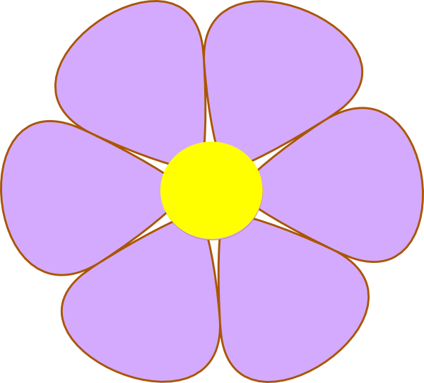 Flower clipart simple. Basic at getdrawings com
