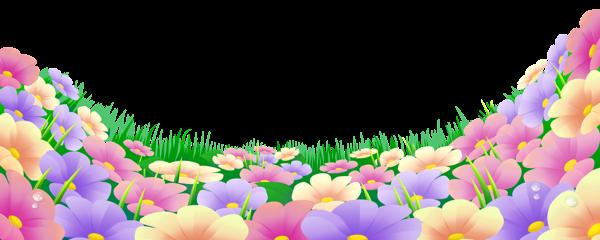 Flower clipart images png transparent Grass with flower clipart png - ClipartFest transparent