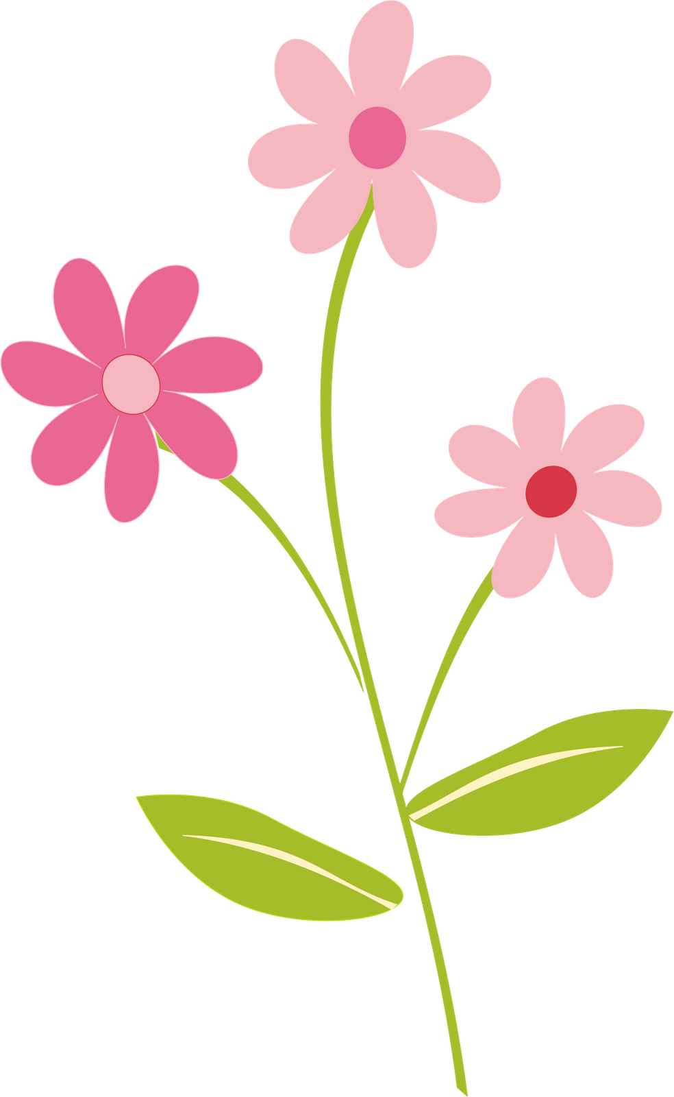 Whimsical flower clipart clipart transparent library Flowers Border Clipart Png - clipartsgram.com | FLOWERS | Pinterest ... clipart transparent library