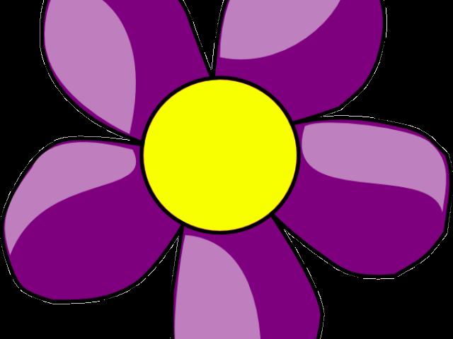 Flower clipart purple clip art transparent download Purple Flower Border Free Download Clip Art - carwad.net clip art transparent download