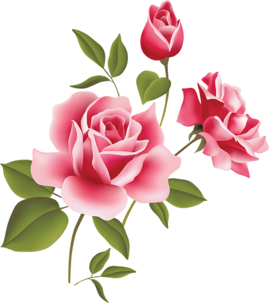 Flower clipart rose clipart black and white library Pink Rose Art Picture Clipart | Цветы | Pinterest | Rose art, Pink ... clipart black and white library