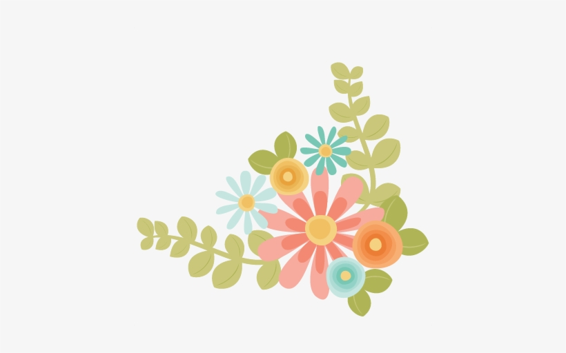 Flower clipart svg svg black and white stock Flowers Svg Scrapbook Cut File Cute Clipart Files For - Cute Flowers ... svg black and white stock