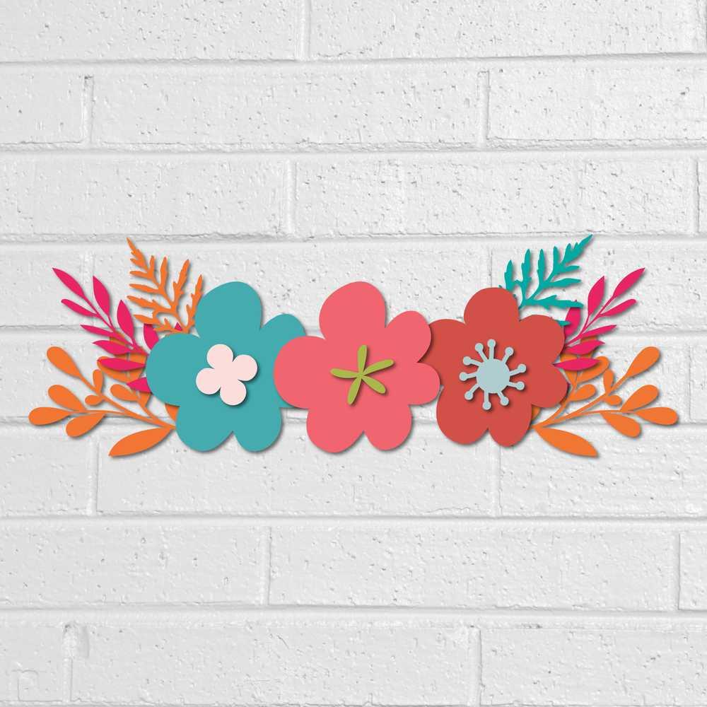Flower clipart svg vector transparent stock Flowers SVG DXF PNG Cut Files - Floral Clipart vector transparent stock