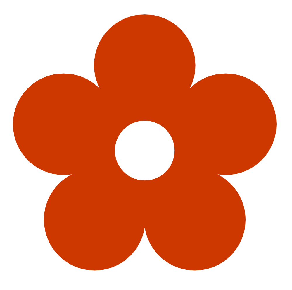 Retro flower clipart image freeuse download Orange Color Clipart | Clipart Panda - Free Clipart Images image freeuse download