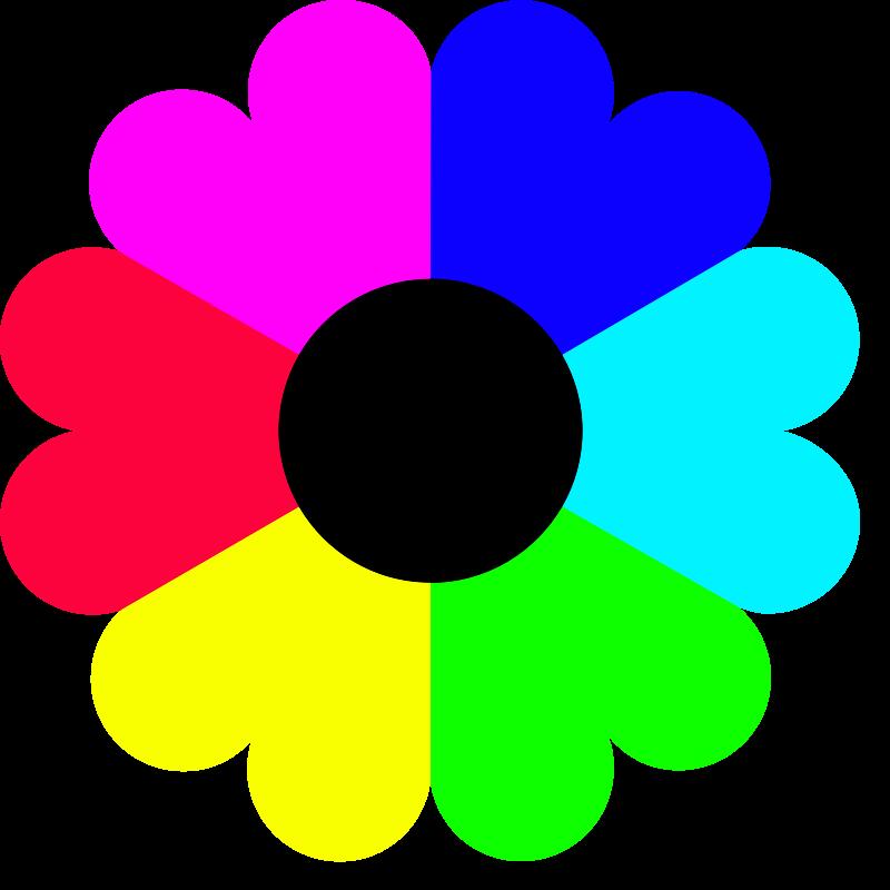 Flower color clipart. Flowers png transparent images