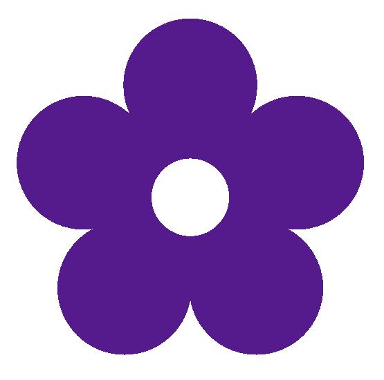 Free purple download clip. Flower color clipart