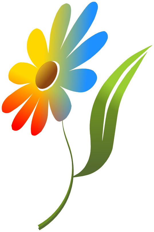 Flower color clipart freeuse library Flowers Color PNG Transparent Flowers Color.PNG Images. | PlusPNG freeuse library