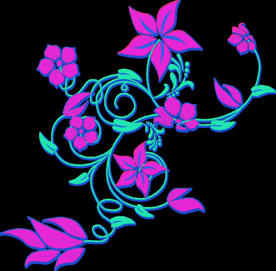 Flower colors clipart graphic download wpclipart com/plants/flowers/colors/pink flower/purple flower png ... graphic download