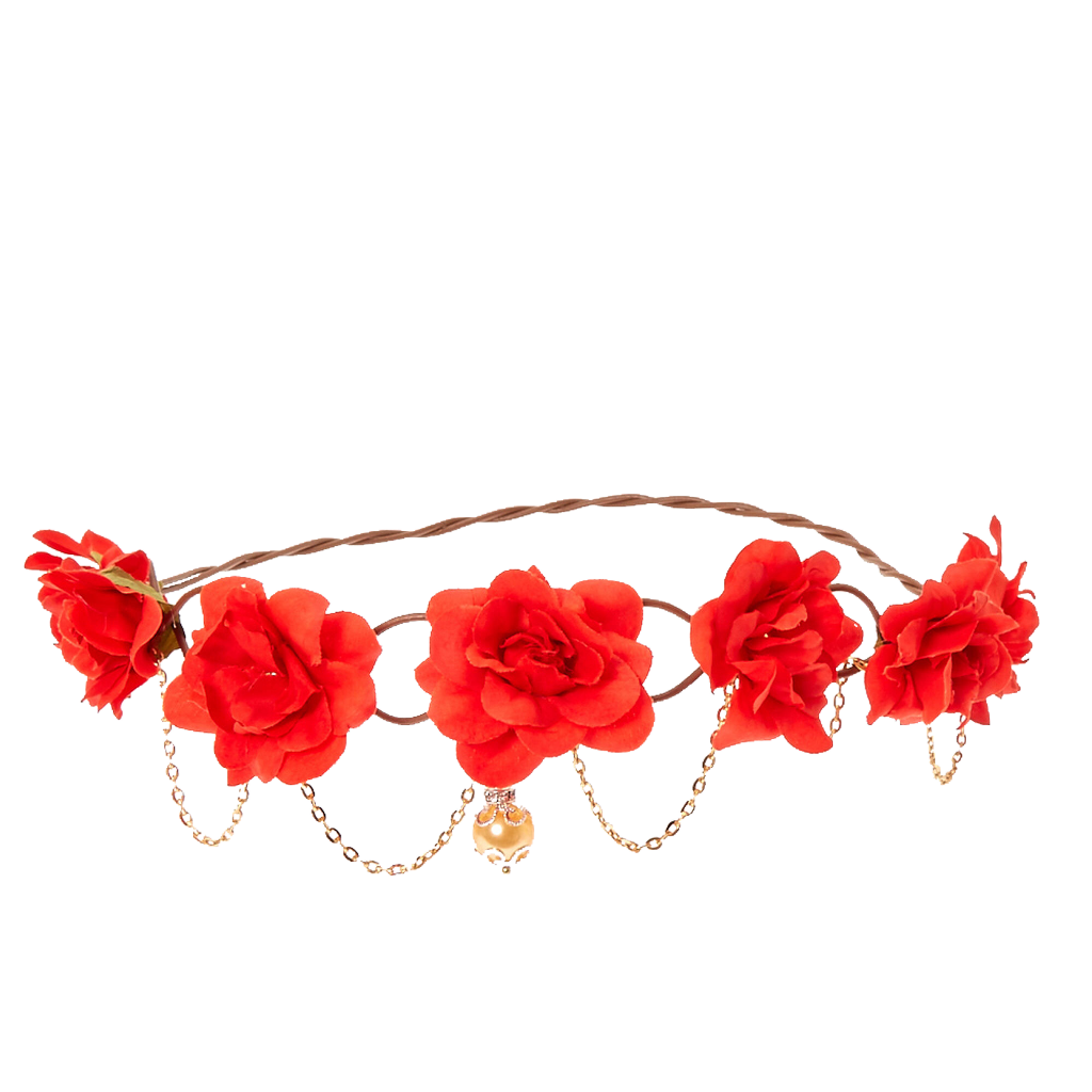 Flower crown clipart headband graphic transparent flower floral flowercrown gold roses freetoedit... graphic transparent