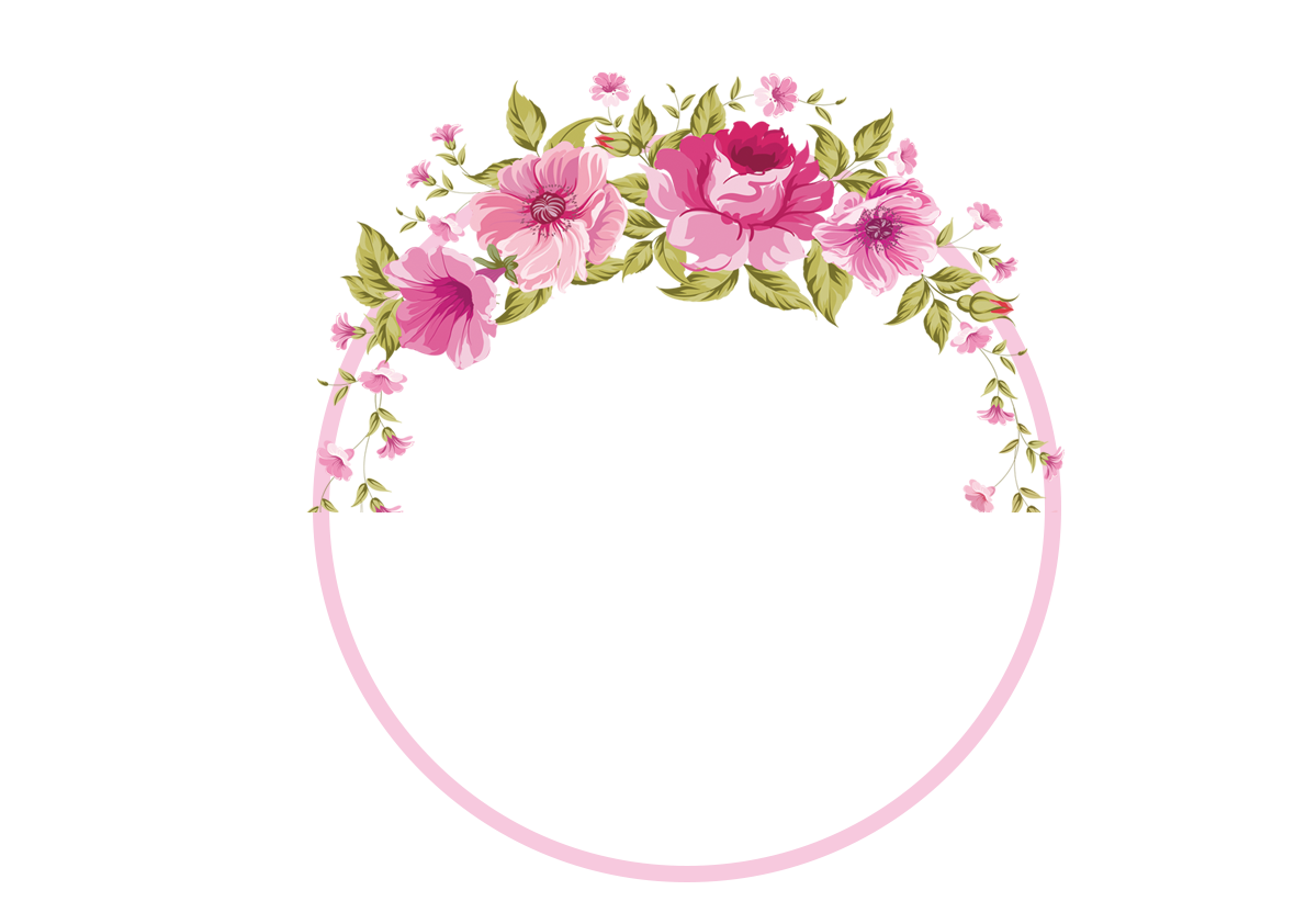 Flower headband clipart graphic library Border Flowers Rose Clip art - Garland border 1190*842 transprent ... graphic library