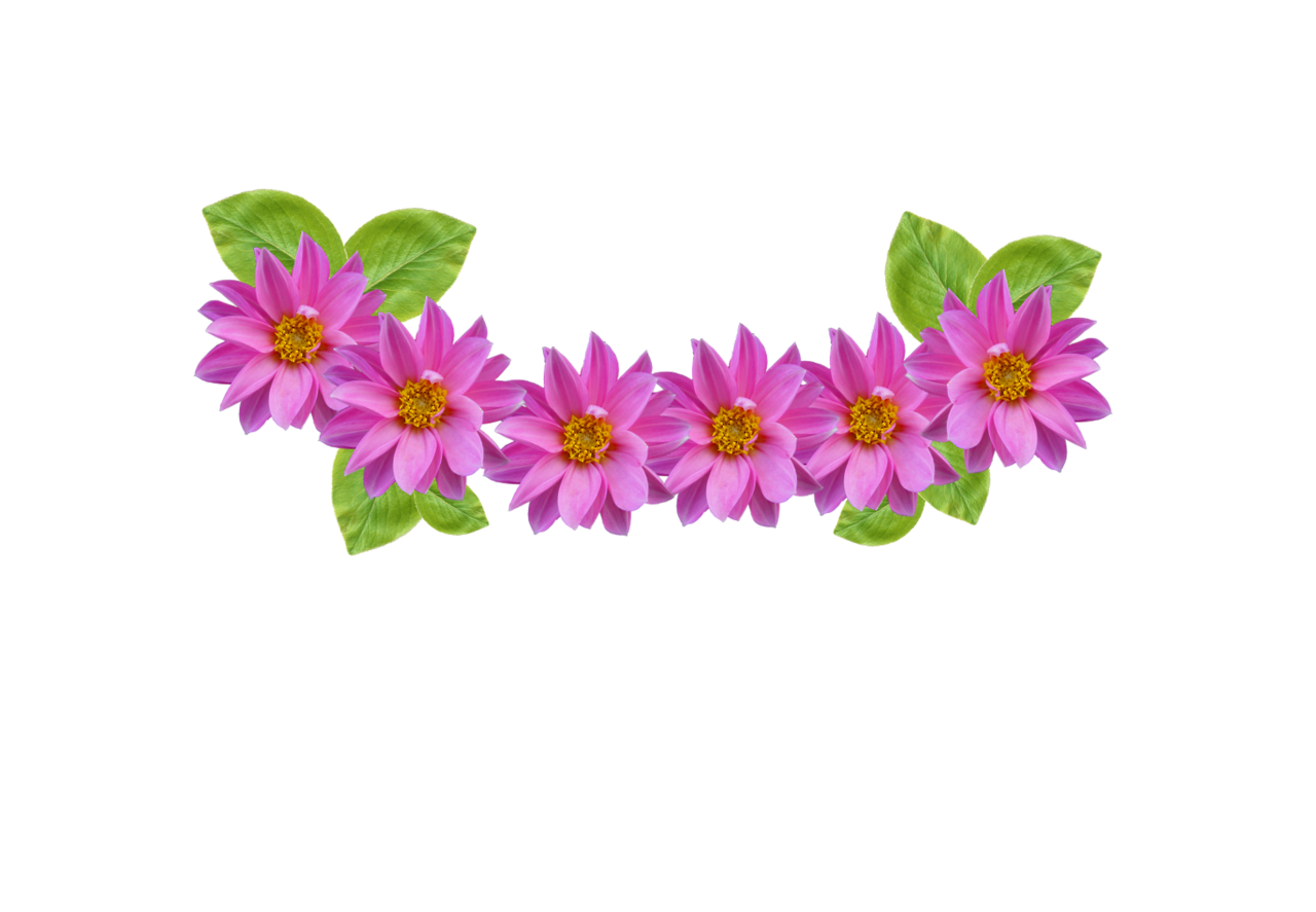 Flower crown clipart transparent. Blue free image