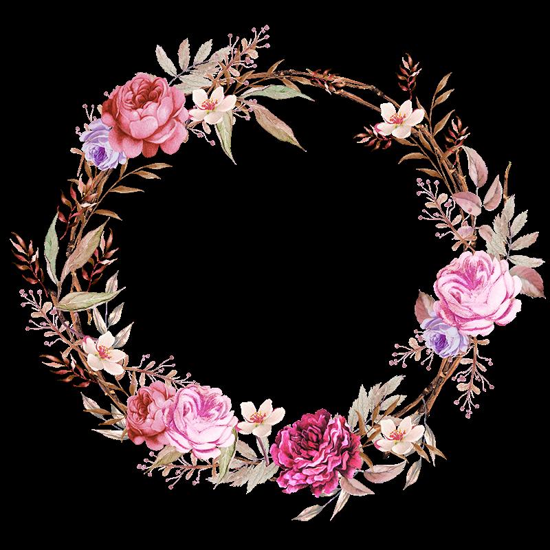 Flower crowns clipart. Imagens floral em png