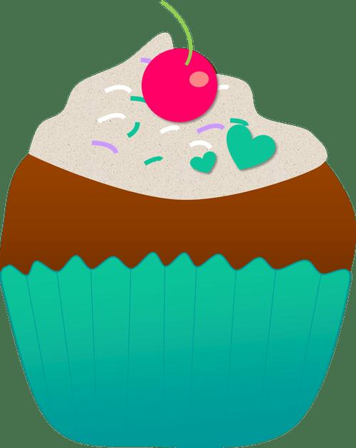 Flower cupcake clipart jpg library Cupcake Clipart jpg library