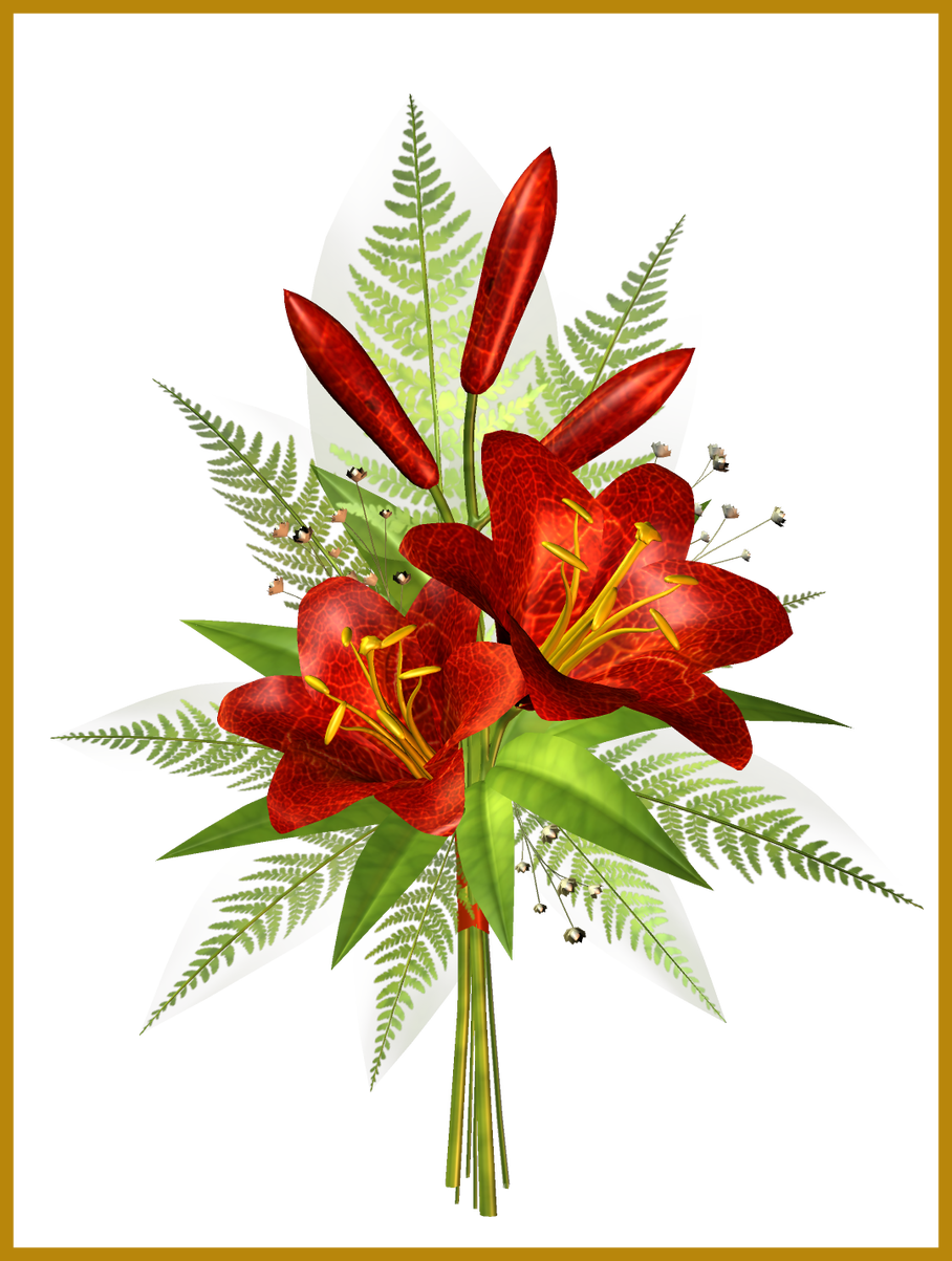 Flower decorations clipart clip freeuse library Amazing Red Flower Decoration Transparent Clipart Png M U For ... clip freeuse library