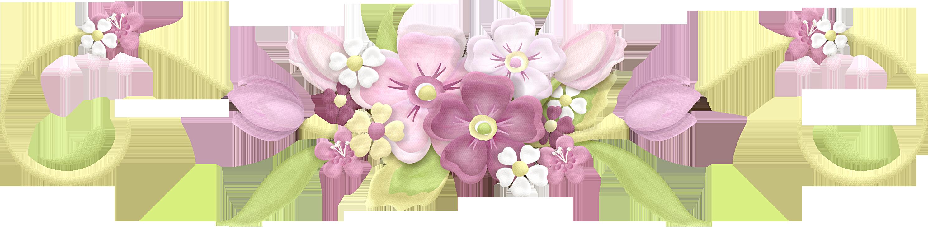 Flower divider clipart vector freeuse barras separadoras flores verdes - Buscar con Google | IMAGENES GIF ... vector freeuse