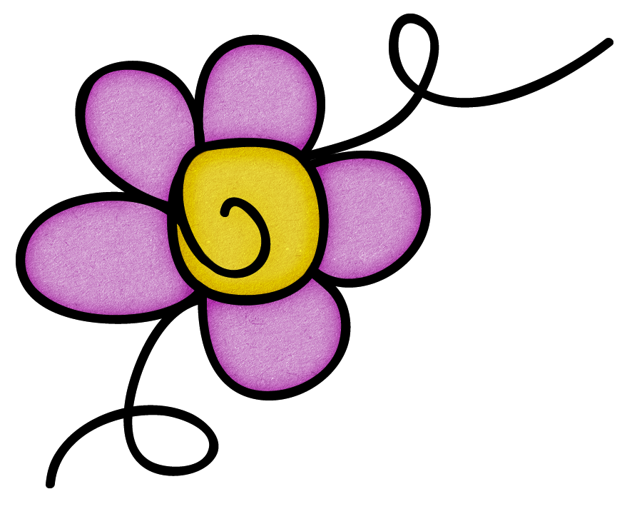 Flower doodle clipart clipart freeuse download JFIAL_Doodle_13.png   Doodles, Clip art and Album clipart freeuse download