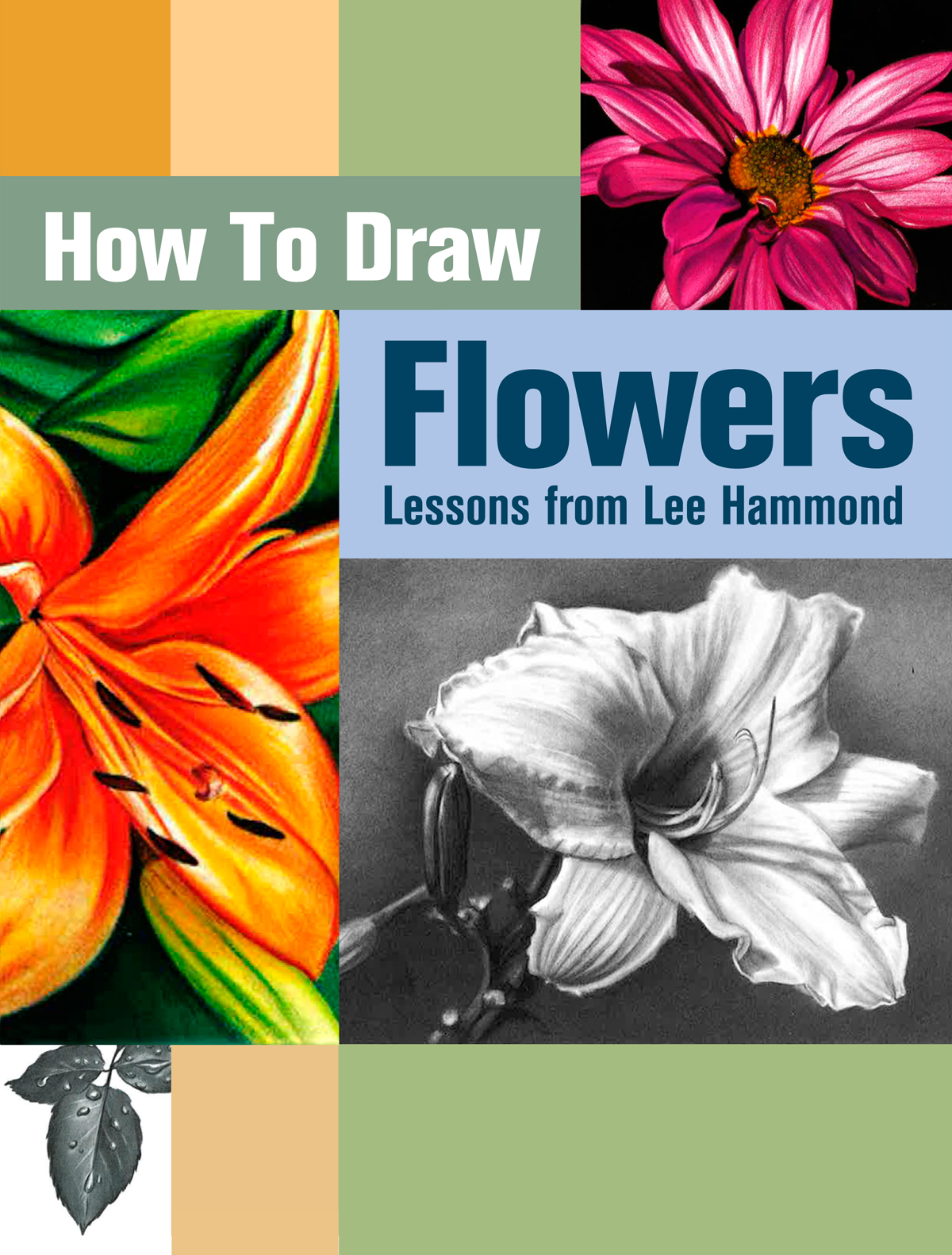 Flower drawings free download jpg black and white library Learn How to Draw Flowers with Artists Network jpg black and white library