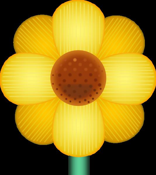 Flower emoji clipart. Download yellow blossom image