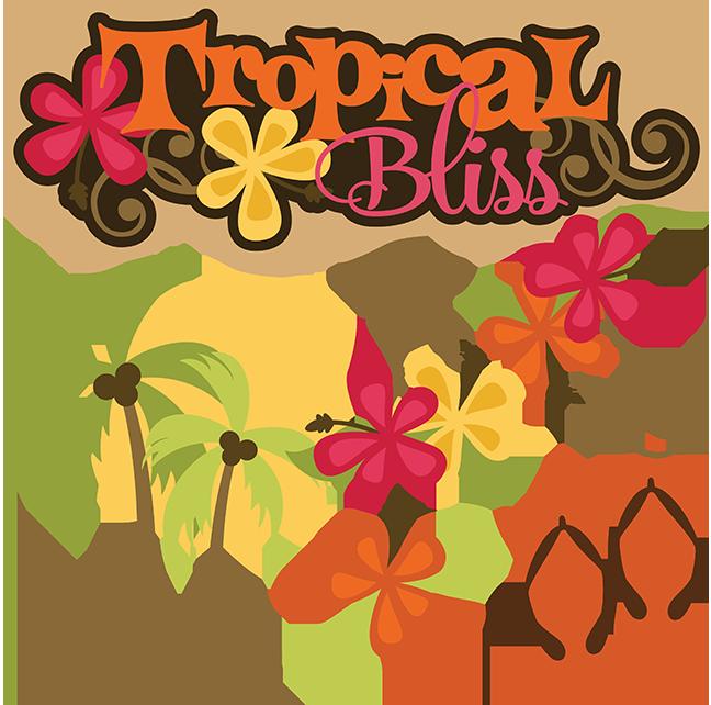 Flower flip flops clipart. Tropical bliss svg vacation