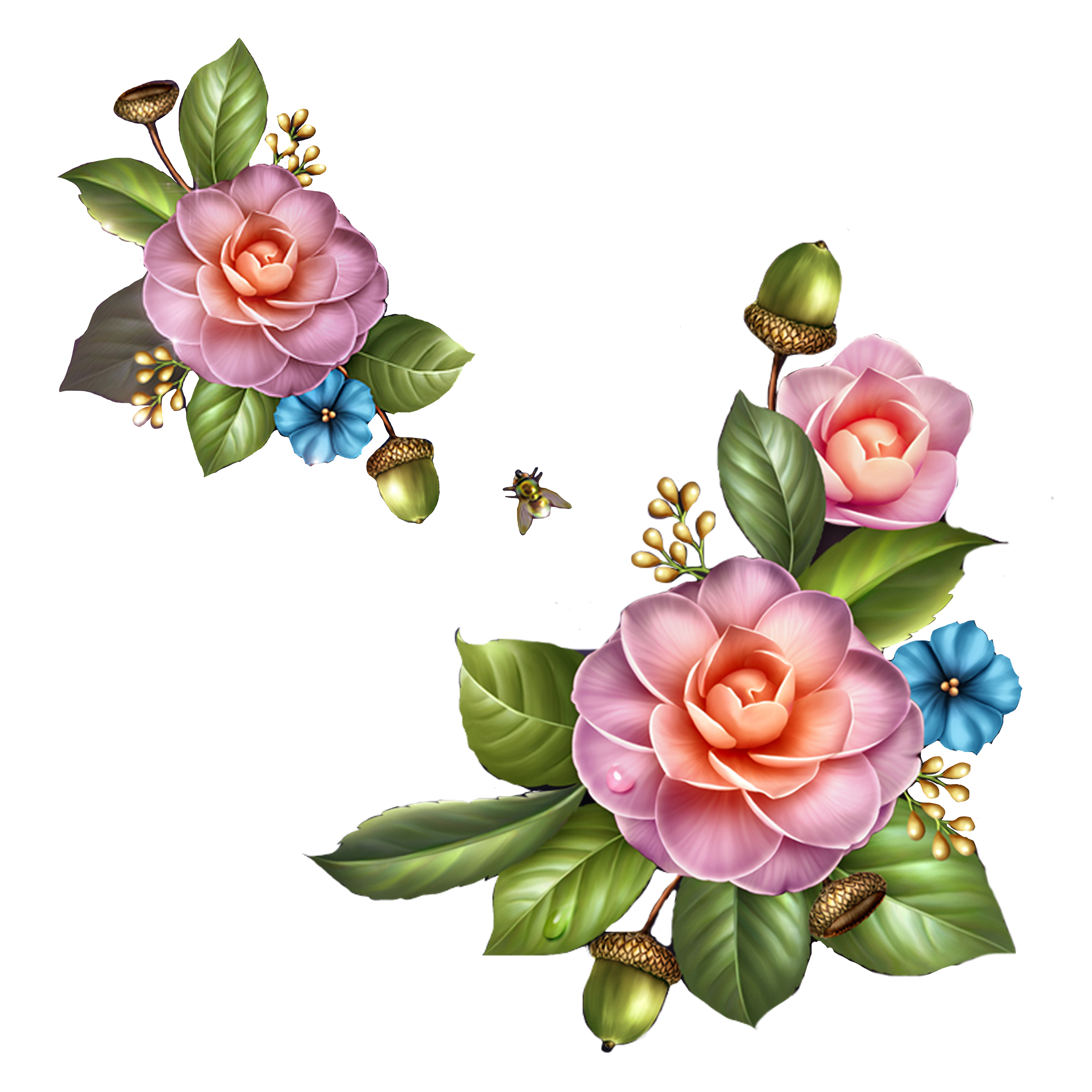 Flower garden clipart free image free stock Flower Garden roses Clip art - flower 4000*4000 transprent Png Free ... image free stock