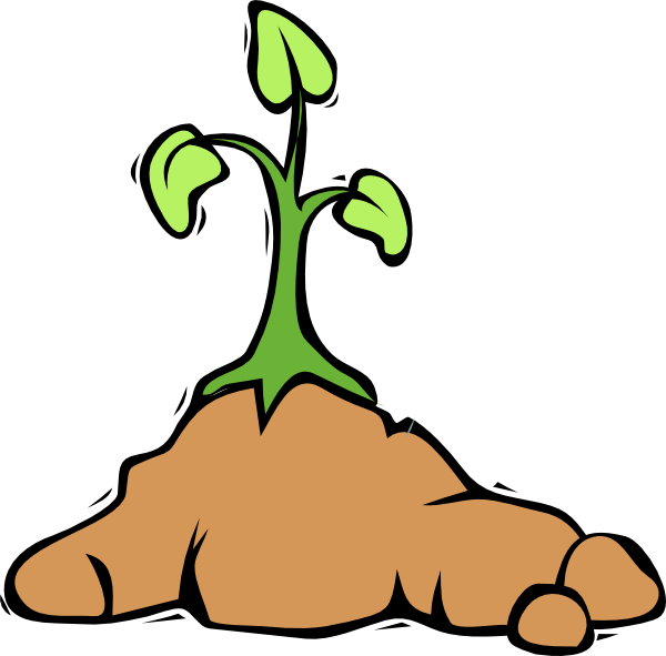 Growing flower clipart library Growing Flower Clip Art at Clker.com - vector clip art online ... library