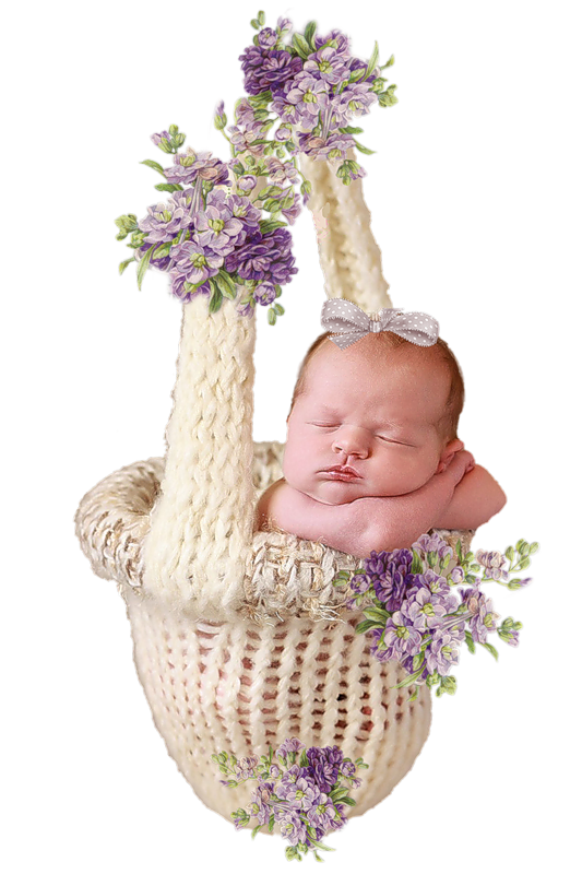 Flower girl basket clipart. Infant child clip art