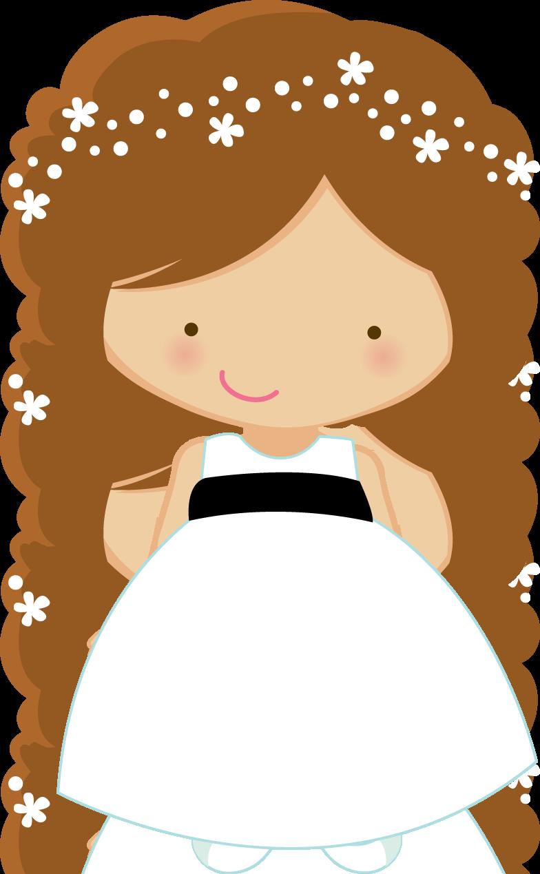 Flower girl clipart black and white jpg Clipart de Pajes o Cortejo de Boda. | Fonts,printables,downloads ... jpg