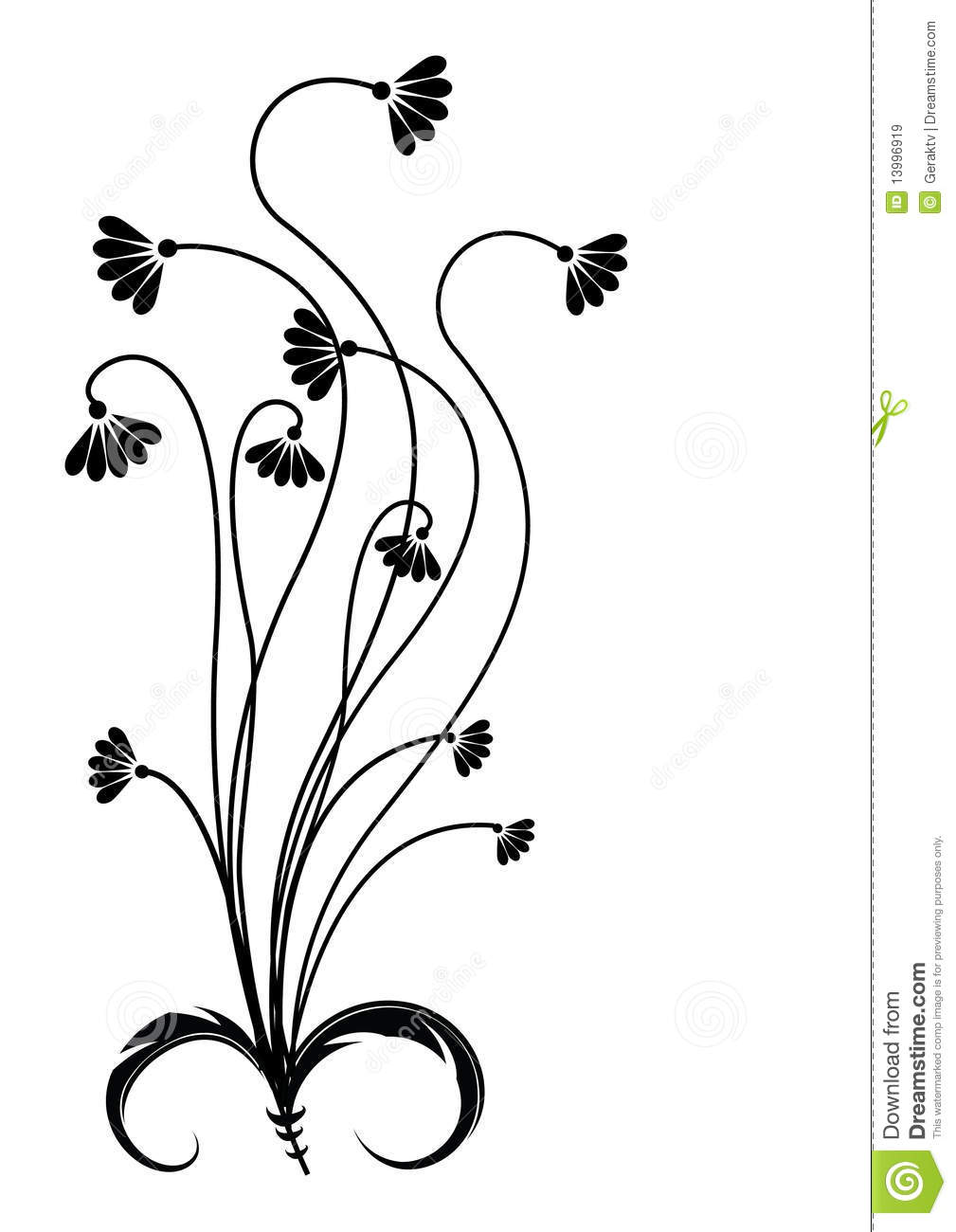 Flower graphic images vector freeuse library Flower graphic - ClipartFox vector freeuse library