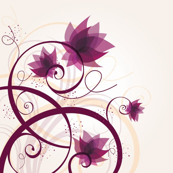 Flower graphic images image free Flowers and Swirls Vector Graphics at DryIcons.com image free
