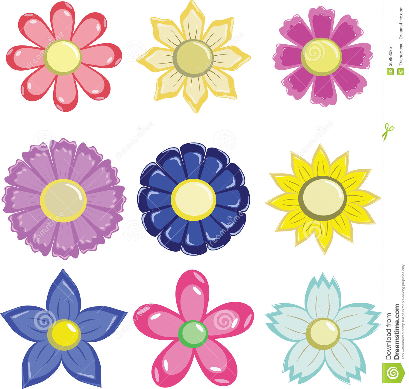 Flower graphic images clipart royalty free Flower graphic free - ClipartFest clipart royalty free