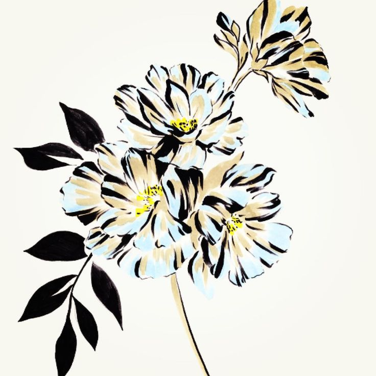 Flower graphic images jpg black and white download 17 Best ideas about Flower Graphic on Pinterest | Folk art ... jpg black and white download