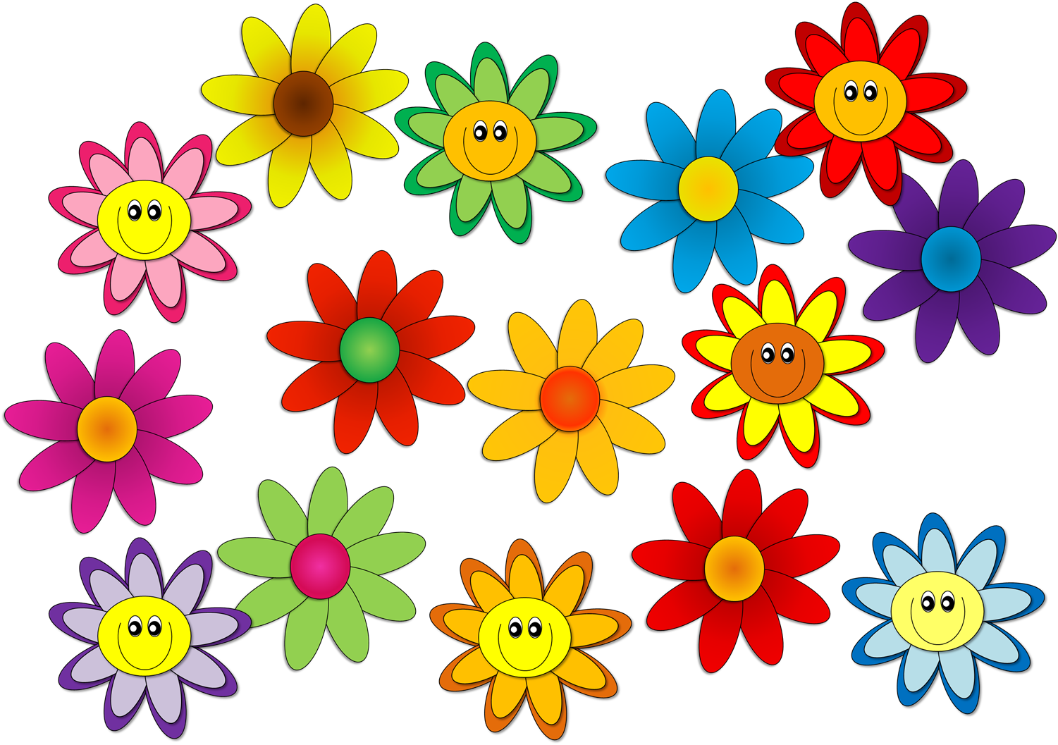 Flower group clipart graphic transparent stock One Teacher's Adventures: August 2014 graphic transparent stock