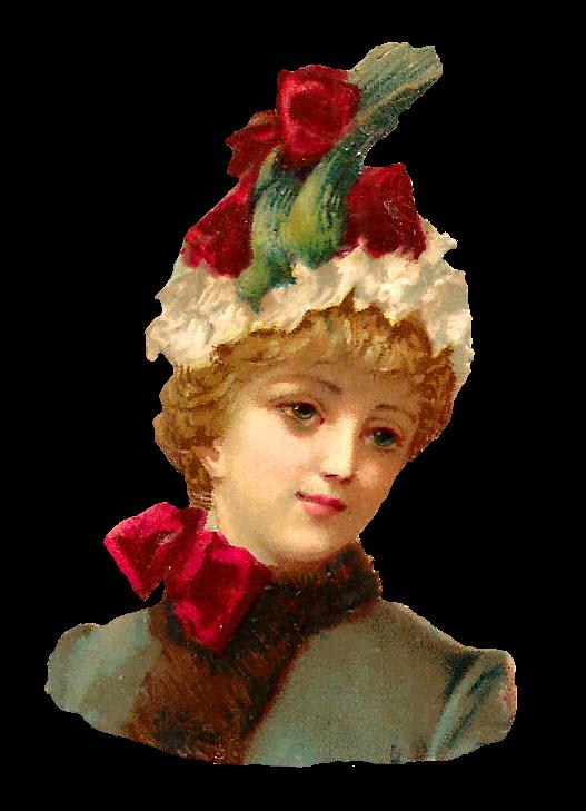 Flower hat clipart png freeuse download Antique Images: Antique Free Women's Hat Fashion Clip Art Birds ... png freeuse download