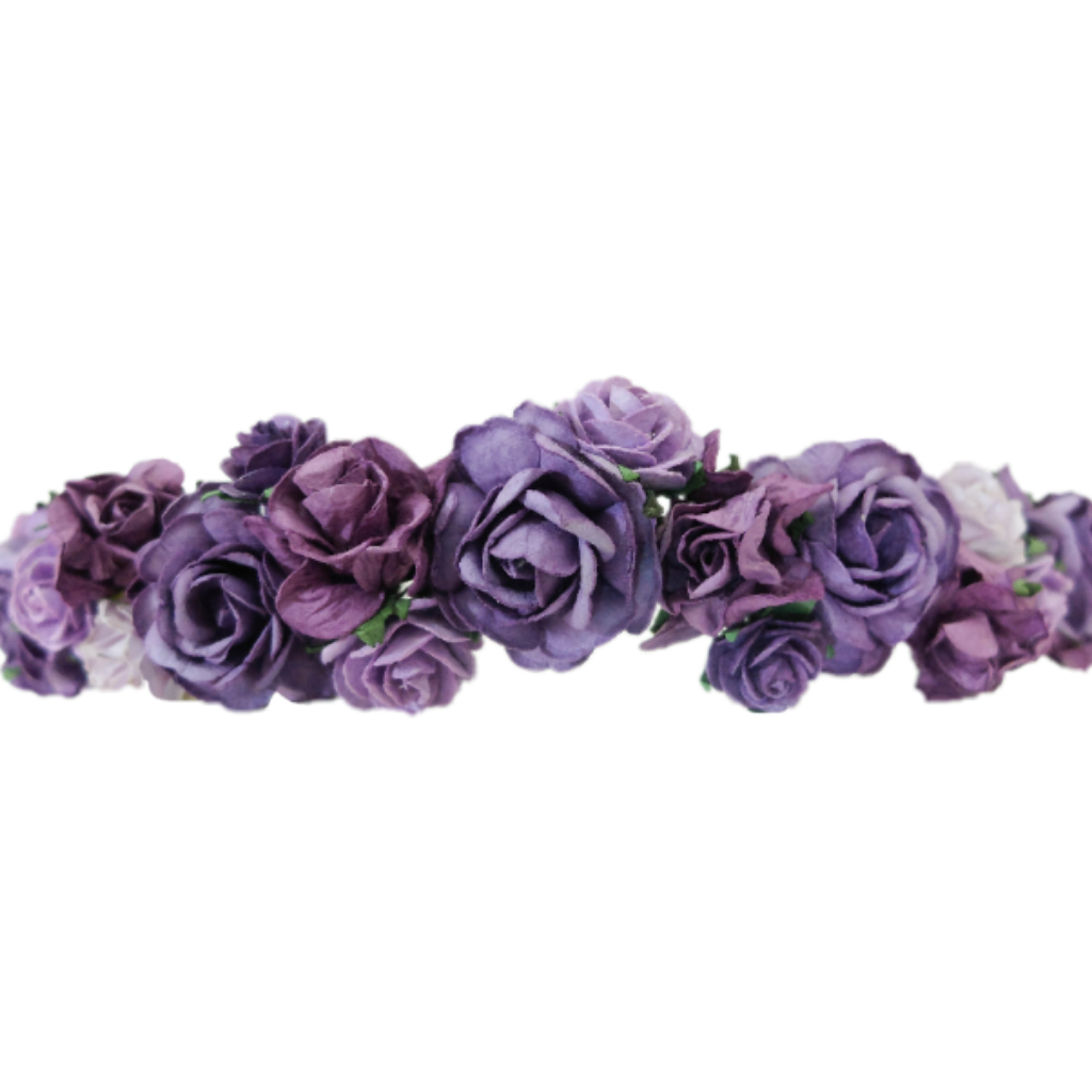 Flower headband clipart graphic free download crown flowercrown flowerheadband purple... graphic free download