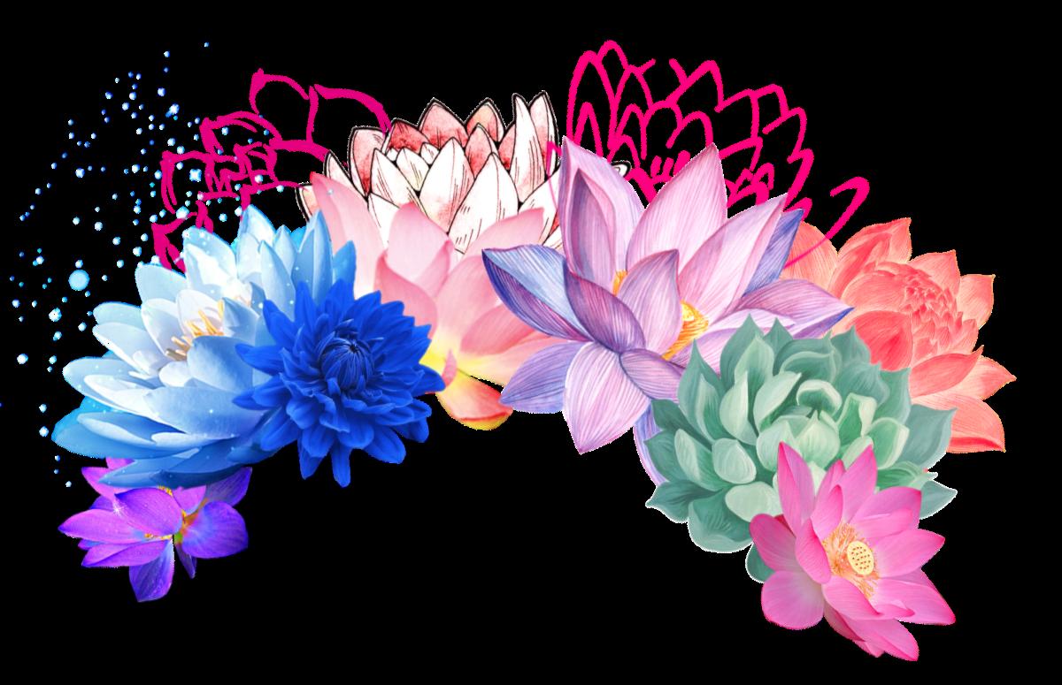 Flower headband clipart banner free download flower flowerheadband lotus cavtusflower flowers headba... banner free download