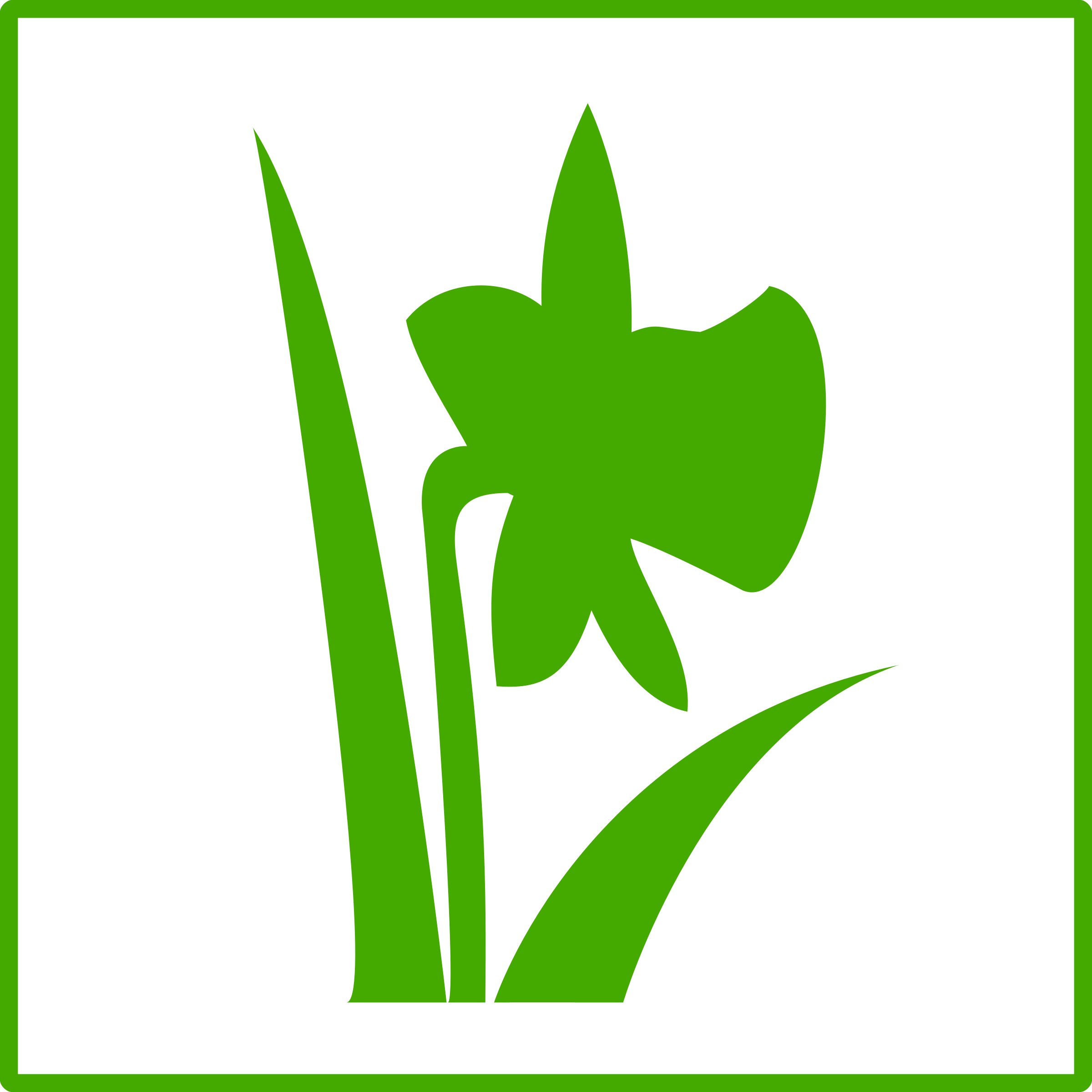 Green flower clipart black and white download Clipart - Eco green flower icon black and white download