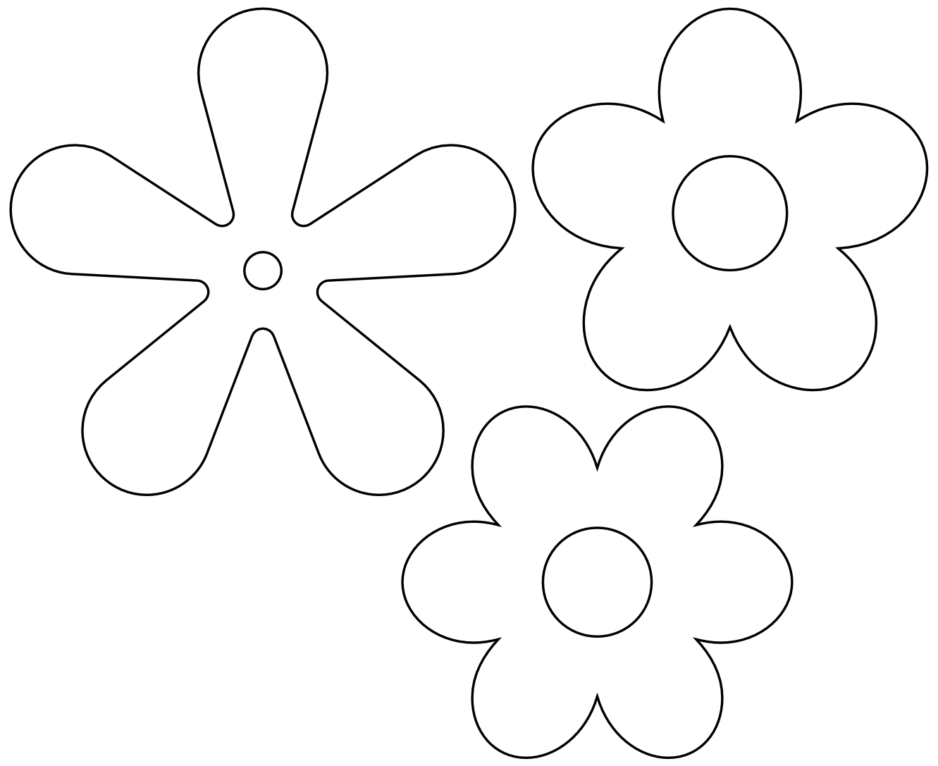 Retro flower clipart picture transparent download Flower Black And White Transparent PNG Pictures - Free Icons and PNG ... picture transparent download