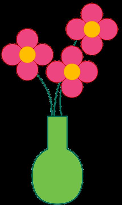 Flower vase clipart black and white png black and white Vase Drawing Clip art - Flower Mason Jar 429*720 transprent Png Free ... png black and white