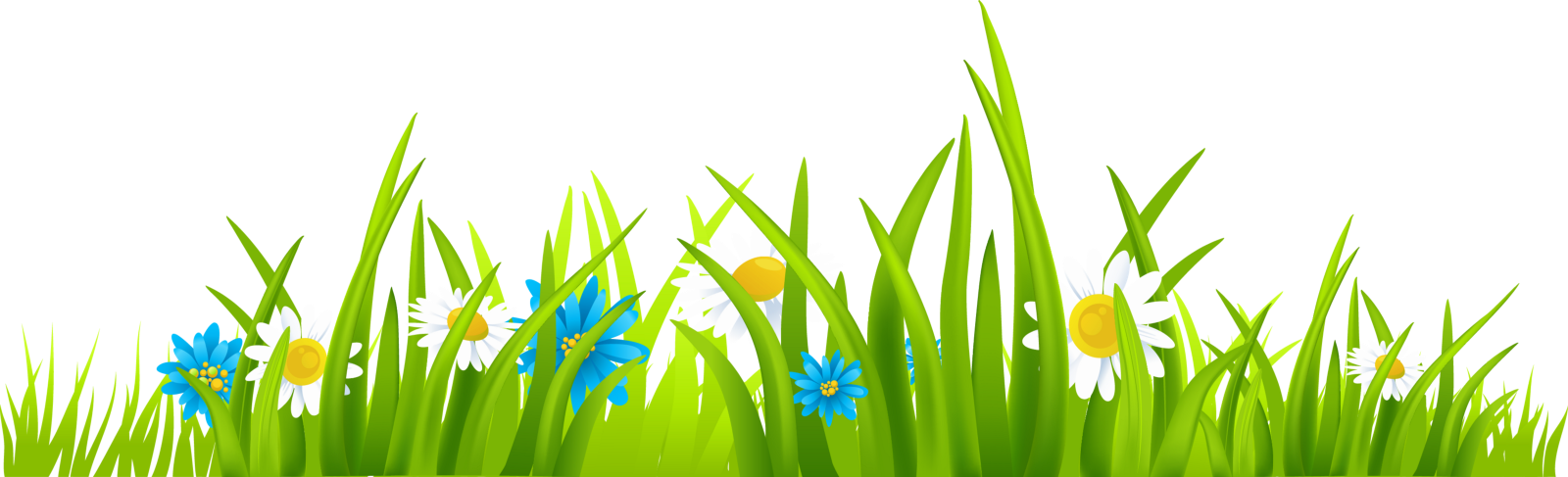 Spring forward your business. Flower meadow clipart