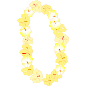 Flower necklace clipart vector library Free Hawaiian Necklace Cliparts, Download Free Clip Art, Free Clip ... vector library
