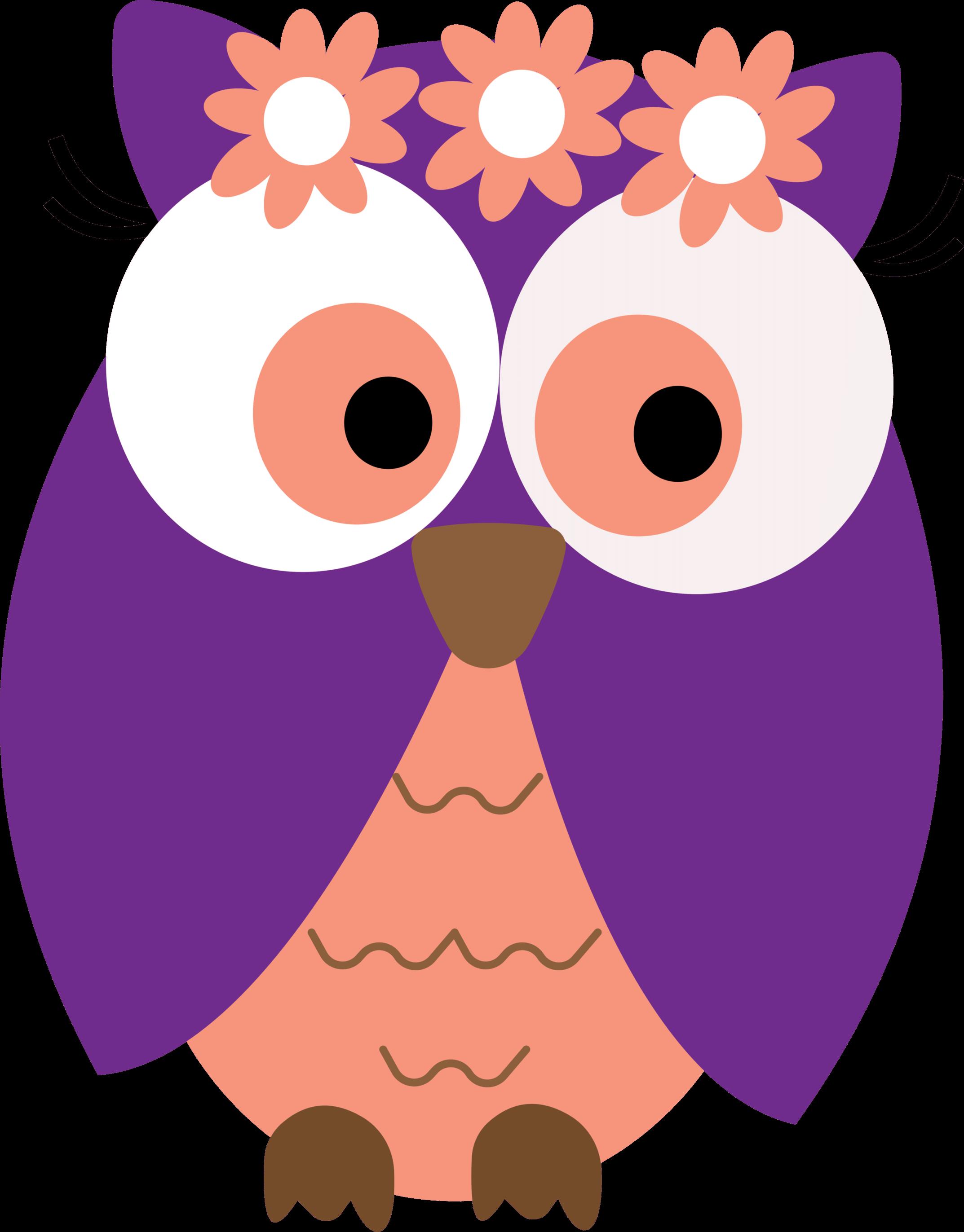 Flower owl clipart clip art free Flower owl clipart clip art free