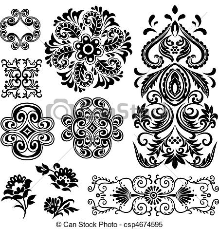 Flower patterns clipart clip art freeuse Simple flower drawing Illustrations and Clip Art. 10,257 Simple ... clip art freeuse