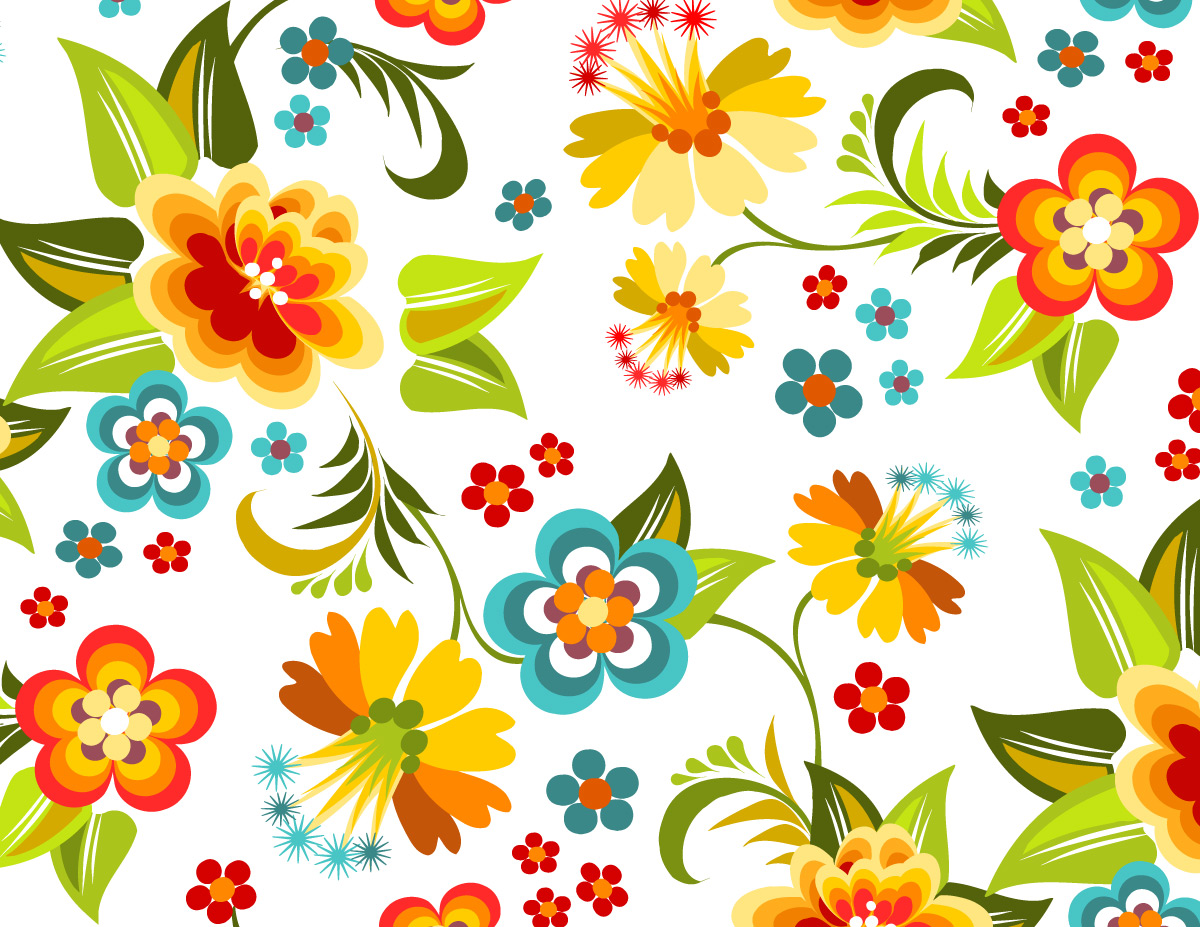 Flower patterns clipart picture black and white library Graphic Design Flower Patterns | Free Download Clip Art | Free ... picture black and white library