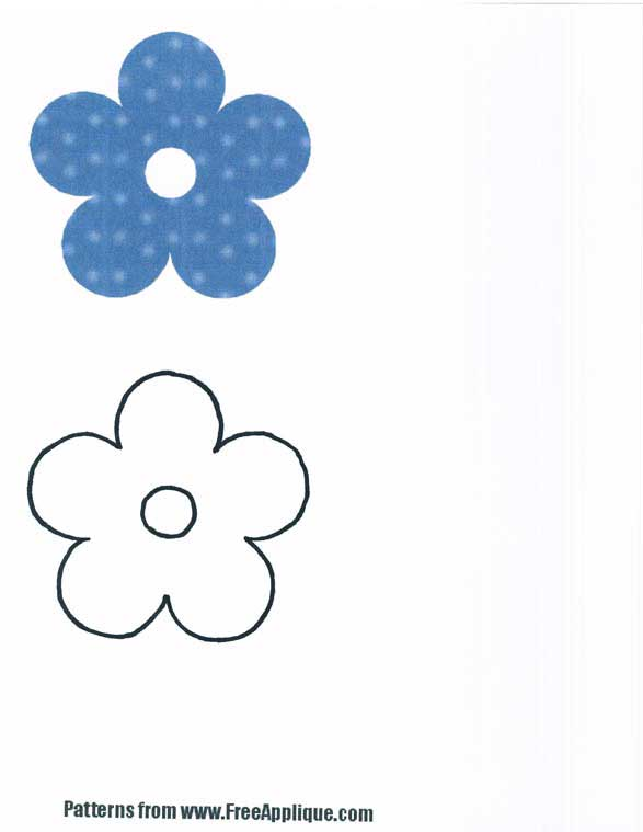 Flower patterns clipart picture stock Flower pattern clip art - ClipartFest picture stock