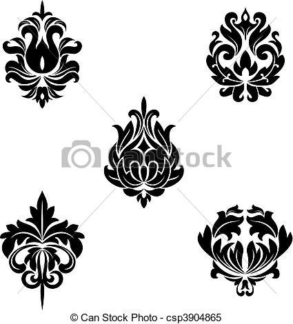Flower patterns clipart image download Floral patterns Stock Illustrations. 425,020 Floral patterns clip ... image download