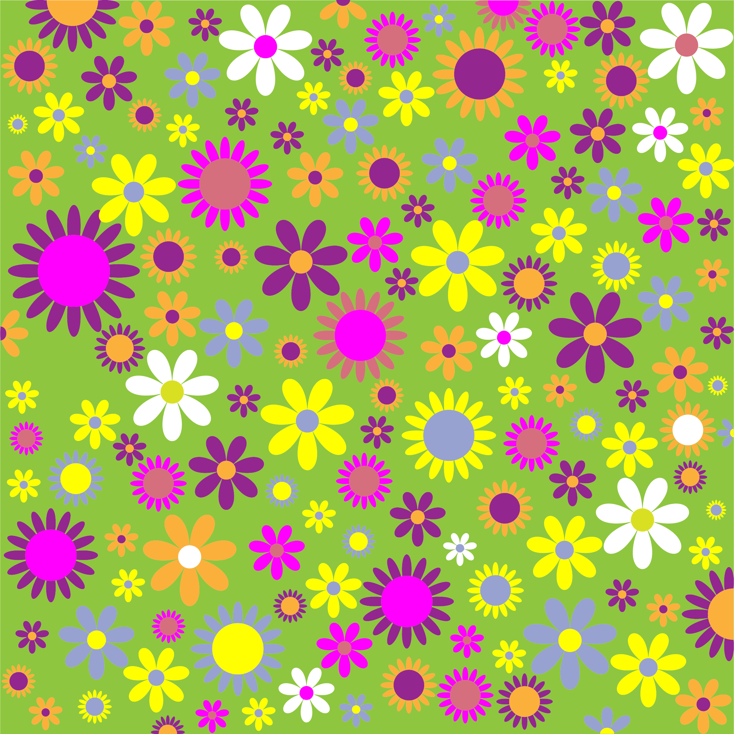 Flower patterns clipart black and white Clipart pattern flower - ClipartFox black and white
