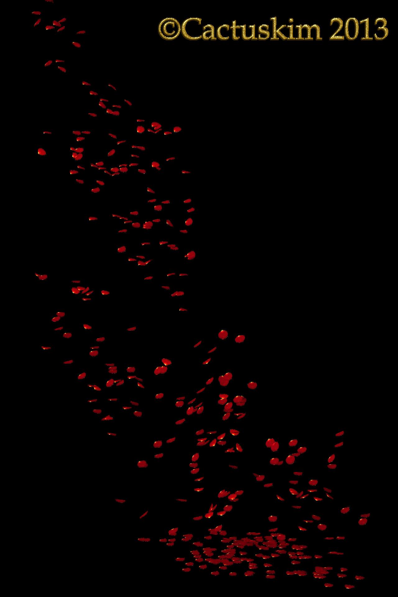 Png fall flowers transparent. Flower petals falling clipart