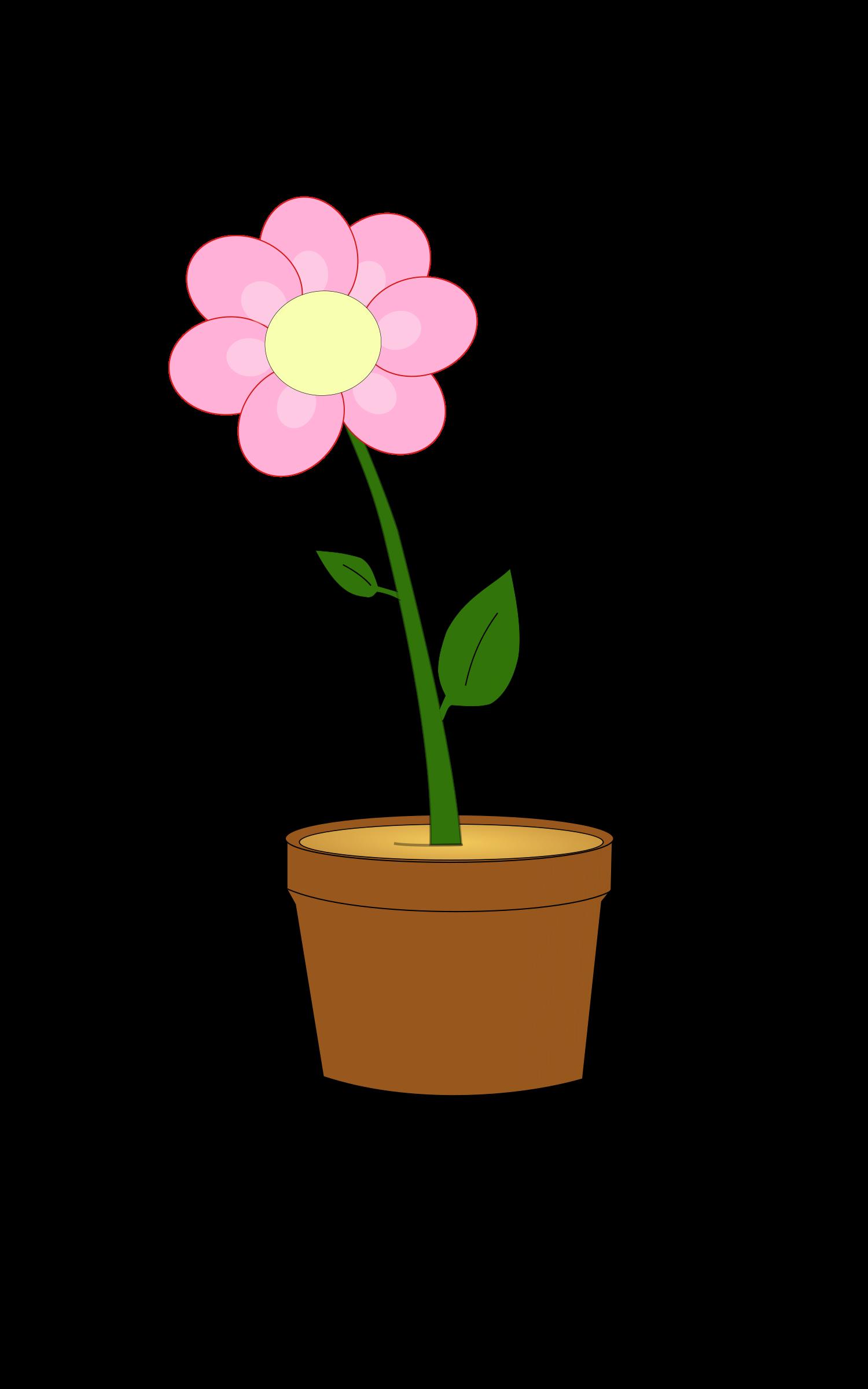 Flower pot clipart free vector transparent download Clipart - Blumentopf vector transparent download