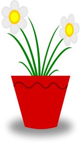 Flower pot clipart png graphic black and white library Pot Flower Clip Art Download graphic black and white library